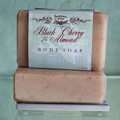 Black Cherry & Almond Soap