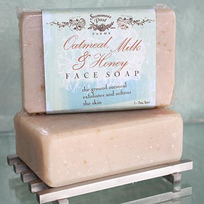 Oatmeal, Milk & Honey Face Soap