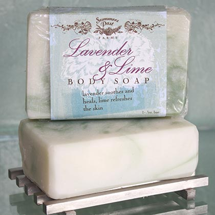 Lavender and Lime Body Soap