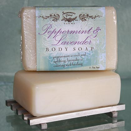 Peppermint & Lavender Body Soap
