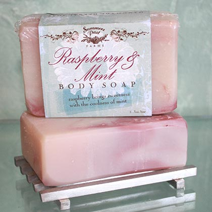 Raspberry & Mint Body Soap