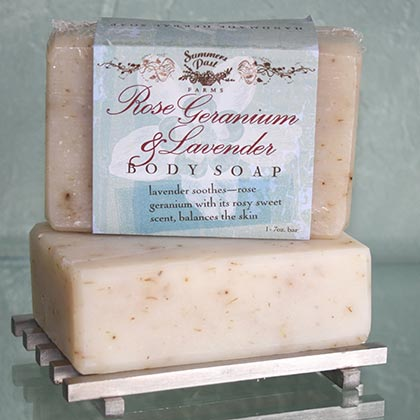 Rose Geranium & Lavender Body Soap
