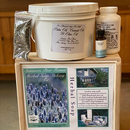 Herbal Soap Making Kit